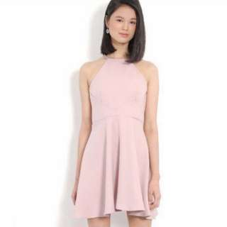 BN pink halter dress