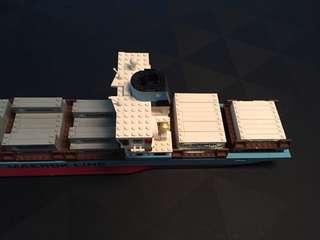 Lego Maersk Line Ship