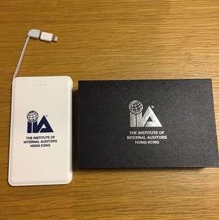 充電寶 iPhone android 一機兩叉 external charger