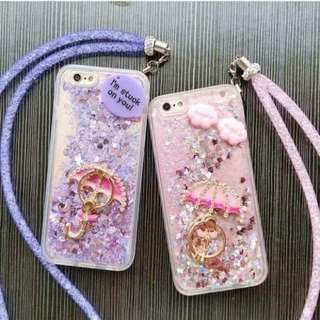 Glitter phone case j7 core