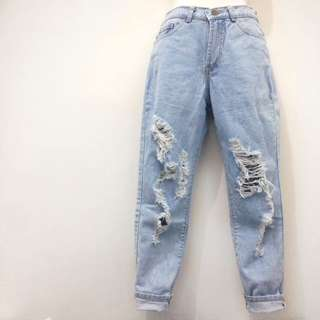 Giordano Ripped Jeans