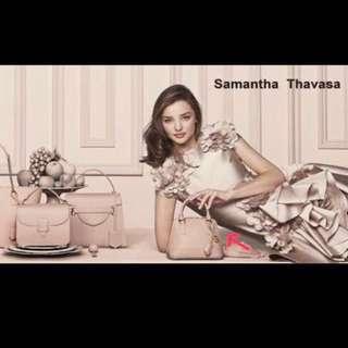 Samatha Thavasa Dusty Pink Mini Bag