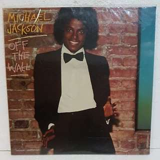 Reserved: Michael Jackson - Off The Wall Vinyl Record