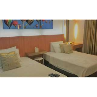 BUDGET Unit with 2 Beds in BSA Twin Towers near Megamall