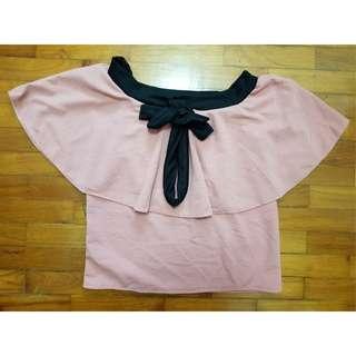 Pink 3-Way Blouse