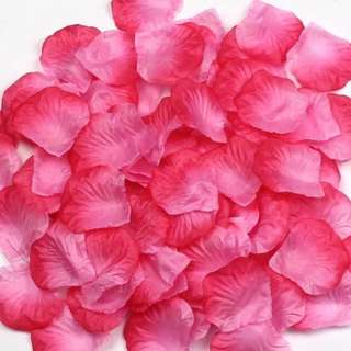 Canvas fabric Flower petals. wedding/party