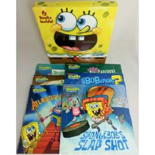 FREE SHIPPING (BNEW) Spongebob Books (6 pcs)