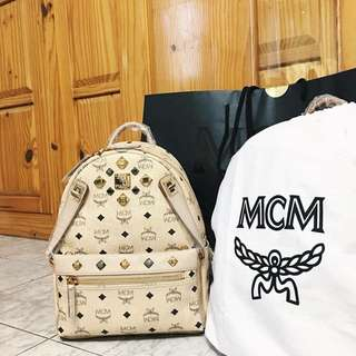 MCM DUAL STARK BACKPACK IN VISETOS