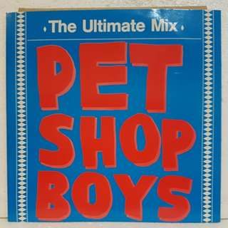 Reserved: Pet Shop Boys - The Ultimate Mix vinyl record