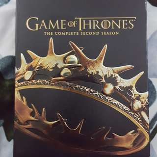 Game of Thrones Season 2 & 3 Blu-Ray