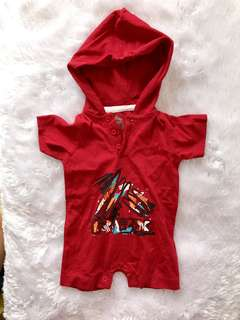 Onesie with hood (newborn-3 months)