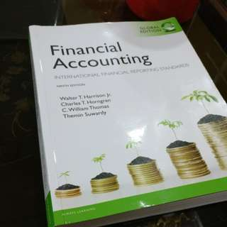 Pearson Financial Accounting International Financial Reporting Standards Ninth Edition