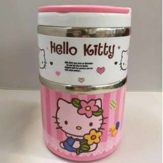 Hello Kitty Two (2) Layers Stainless Steel Thermal
