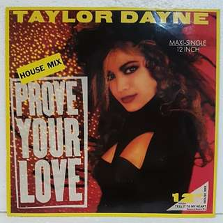 Taylor Dayne - Prove Your Love Vinyl Record