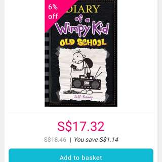 Diary Of A Wimpy Kid- old school