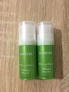 Laneige anti pollution defensor SPF30 PA++
