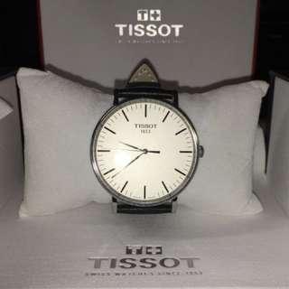 Tissot Everytime Large 大錶面 皮革 腕錶