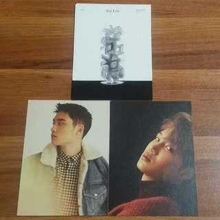 EXO官方名信片🔥FOR LIFE (D.O KAI)+跟專名信片