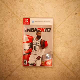 Nintendo Switch Game: NBA 2K18