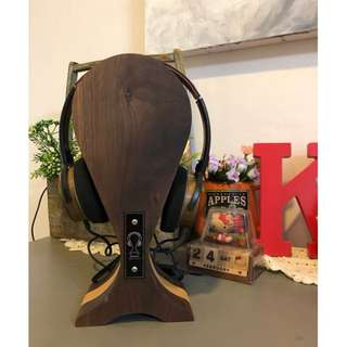 SPECIAL Bundle MC2 Sandalwood Headphone (by SoundTech) with ROYAL GLAM Wood Headphone