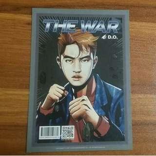 EXO官方漫畫卡🔥THE WAR (前D.O後SEHUN)