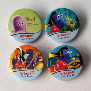 Finding Nemo Badges