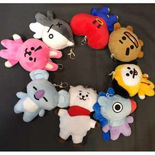 BT21 MINI DOLL KEYCHAIN