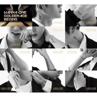 [NON-PROFIT] Wanna One Comeback Albums