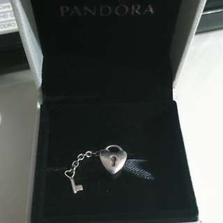 Pandora - Heart Lock & Key Charm