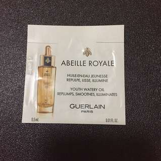 Guerlain abeille Royale youth water oil 0.5ml