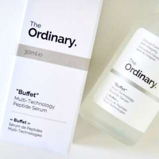 "The Ordinary - ""Buffet"" Multi-Technology Peptide Serum 30 ml"