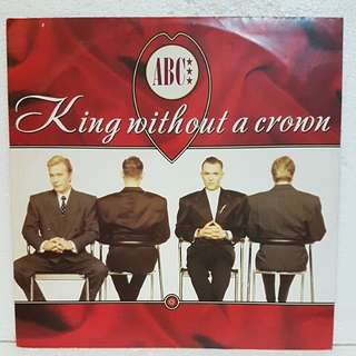 ABC - King Without A Crown Vinyl Record