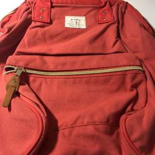 Anello Backpack < bright red >