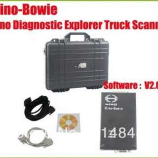 Kobelco excavator test tools Hino-Bowie V2.03