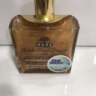 Nuxe huile prodigieuse dry oil 50 ml for face body hair