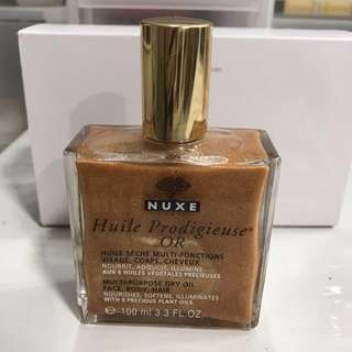 Nuxe Huile Prodigieuse Multipurpose dry oil 100ml for face body hair