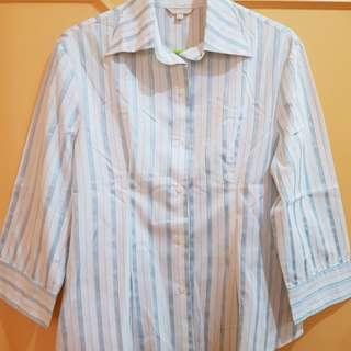 G2000 Blue Stripes Polo