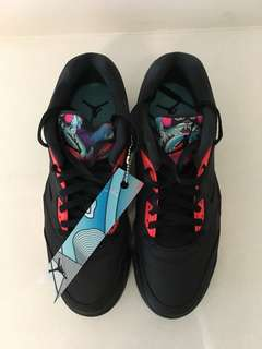 """Air Jordan 5 Low """"Chinese New Year"""" Edition (Almost New)"""