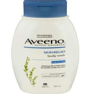 Aveeno Body Wash - Skin Relief Wash 354mL