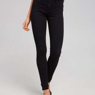 Dotti high waisted black jeans