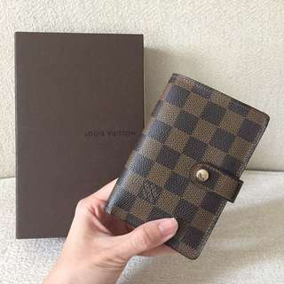 AUTHENTIC LV LOUIS VUITTON Damier French Wallet / Purse