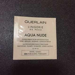Guerlain aqua nude water infused perfecting fluid 1ml