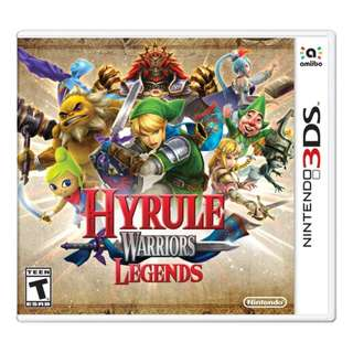 3ds Hyrule Warriors Legend