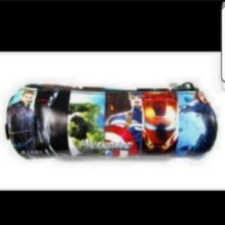 In Stock Avengers Design Pencil Case Size is 17.5 × 7.5cm