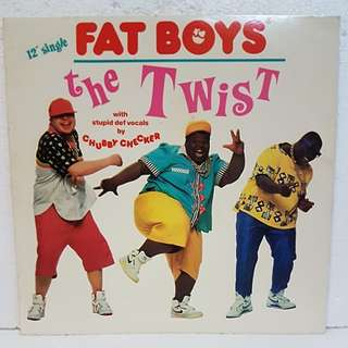 Reserved: Fat Boys - The Twist Vinyl Record