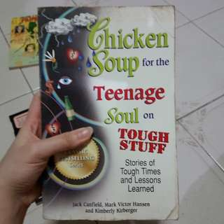 Chicken soup book. Teenage tough stuff