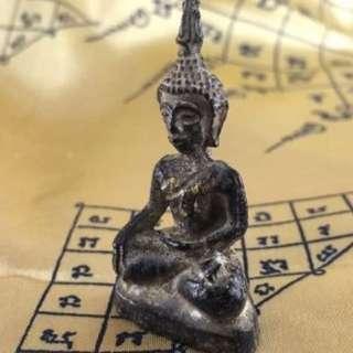 Thai Buddha Amulet Statue Meditation Medicine Sacred Healing Sickness