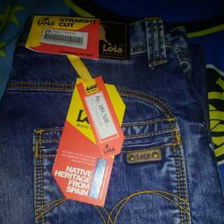 Lois celana jeans STRAIGHT CUT Original