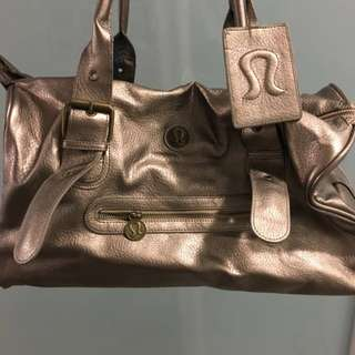 Lululemon Kit Bag - Gold