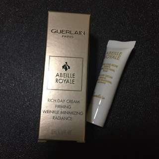 Guerlain Abeille Royale Rich Day Cream Firming Wrinkle Minimizing Radiance 3ml
